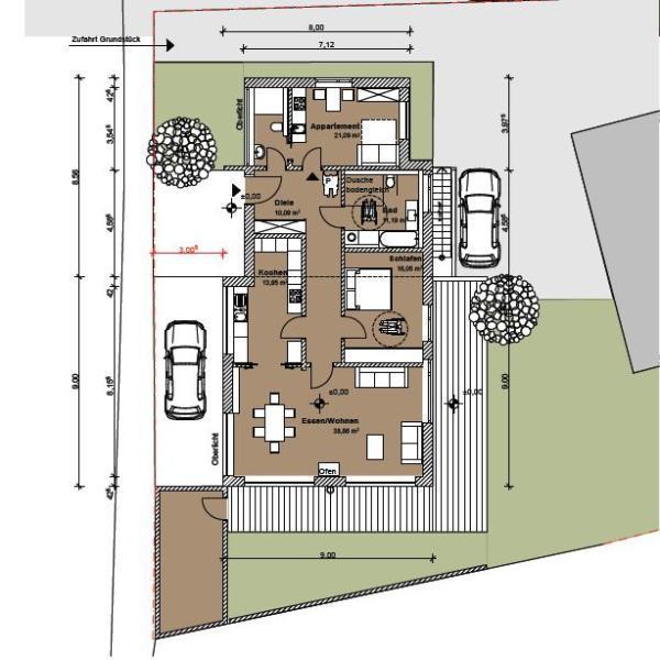 architekturb ro einberger kfw 40 effizienzhaus passivhaus. Black Bedroom Furniture Sets. Home Design Ideas
